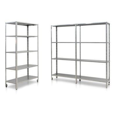 INOX BOLTED SHELVING