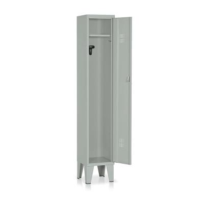 Locker 1 compartment mm. 315Lx330Dx1800H. Grey.